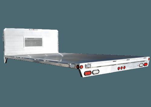 HD standard flatbed truck body by Duramag