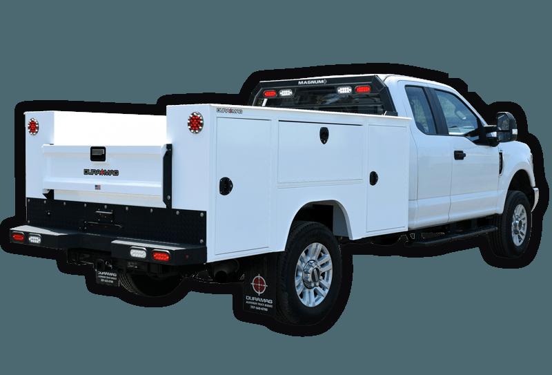 Duramag service truck body
